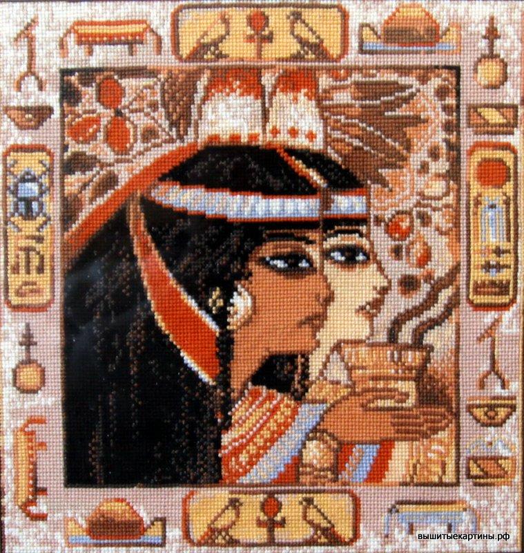 Вышивка — Египетские мотивы