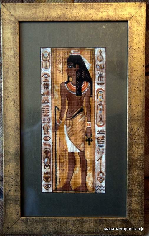 Вышивка — Египетские мотивы.