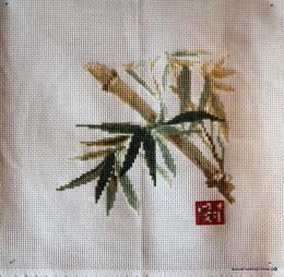 вышивка Тростник