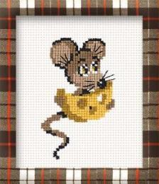 Вышивка - Мышка