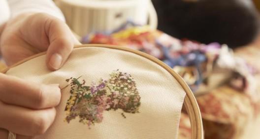 увлечение вышивкой